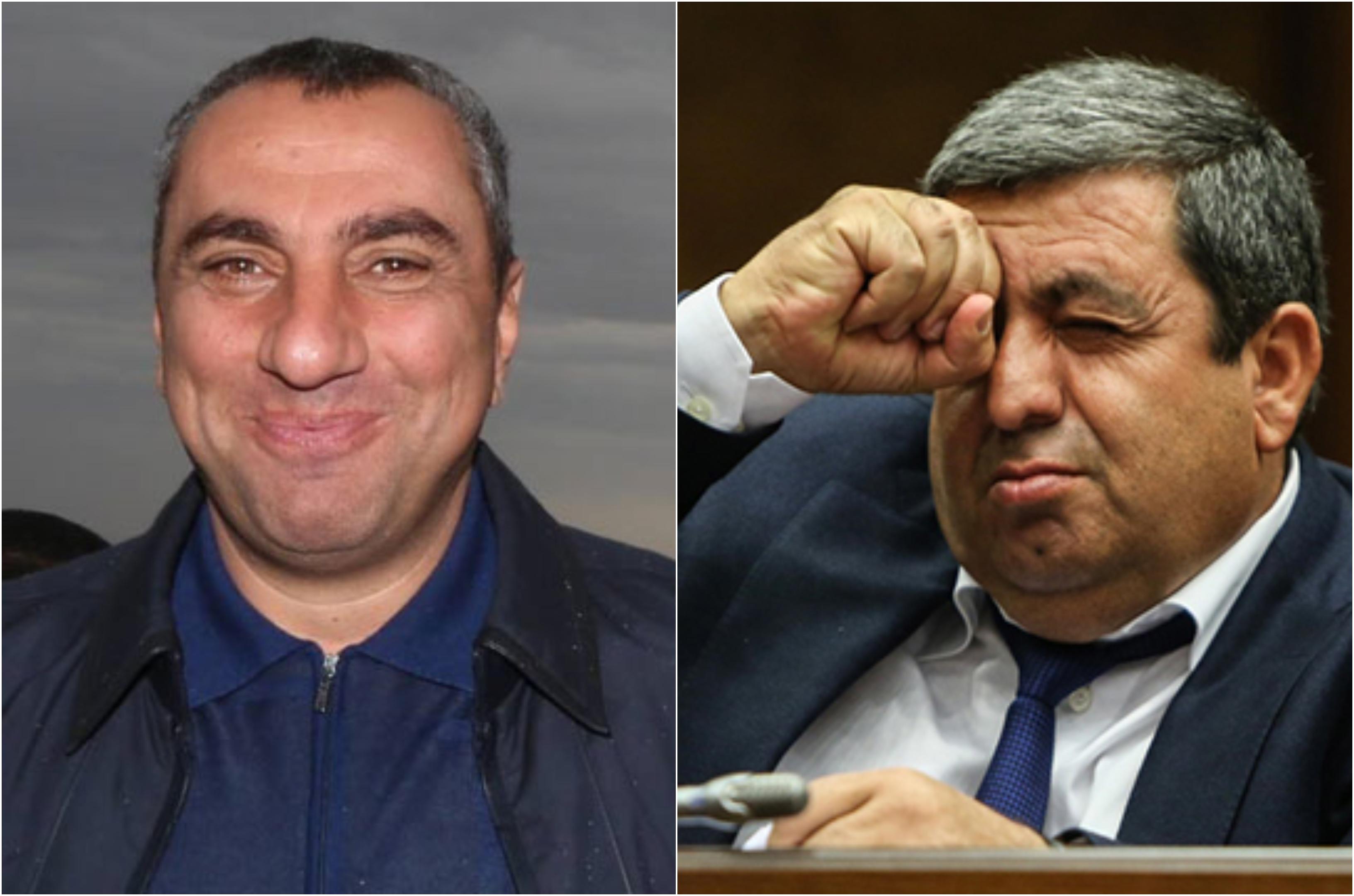 ՀՀ ԱԺ պատգամավոր Սամվել Ալեքսանյանը և Առաքել Մովսիսյանը