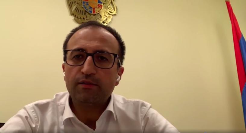 ՀՀ առողջապահության նախարար Արսեն Թորոսյանը